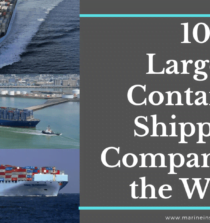 10 Largest Container Shipping Companies in the World