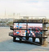 Innovation Sandbox, built to coincide with UAE Innovation Month, was a multi-level structure on Dubai's Kite Beach that invited visitors on a journey of discovery, showcasing how DP World contributes to the innovation culture in the country and beyond.