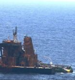 new destination for the burnt out tanker new diamond