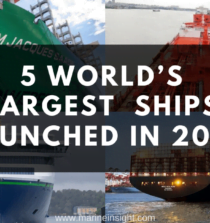 5 Largest Vessels In The World Launched in 2019