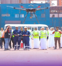 Drone technology is being evaluated by OCL's Tech Try operation