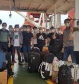 Filipinos Crew Change