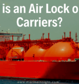 What is an Air Lock on Gas Carriers?