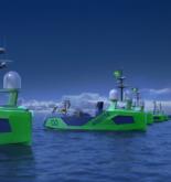 Sonardyne's Sensors for Ocean Infinity's Armada USV Fleet