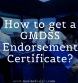 How to get a GMDSS Endorsement Certificate?