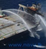 Sri Lanka Douses Another Fire on New Diamond Tanker. Tows it to Deeper Water