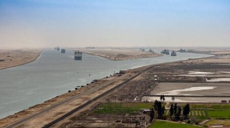 Suez Canal Annual Revenues Fell 3% in 2020