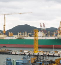 membrane type LNG carrier