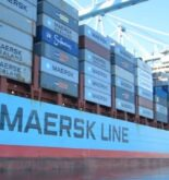 Maersk container ship arrives in Mexico after container loss