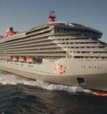 "Fincantieri Presents First Ship Built For Virgin Voyages ""Scarlet Lady"""