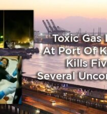 Poisonous Gas Leak Kills Five In Port Of Karachi, Several Unconscious