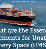 What are the Essential Requirements for Unattended Machinery Space (UMS) Ship?