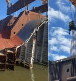 Capsized Golden Ray Salvage Operation Going Slow, To Be Continued Till June