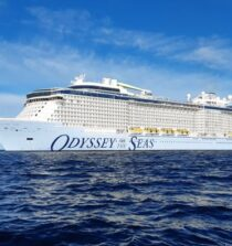 Royal Caribbean Welcomes Brand-New Ship 'Odyssey of the seas'