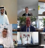 The agreement between Abu Dhabi Terminals and Microsoft was signed virtually