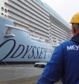 Watch: Royal Caribbean's First Quantum Ultra Class Ship 'Odyssey Of The Seas' Leaves Building Dock