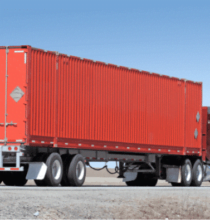 shipping truck load