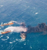 sanchi tanker fire