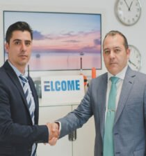 Jose Antonio Sanchez, technical manager, left, with Francisco Rufo, branch manager, right
