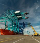 Watch: World's Largest Low-Profile STS Cranes Arrive At Port Everglades