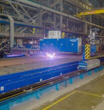 Zvezda Begins Steel Cutting For New Series Of Ice-Class LNG Carriers