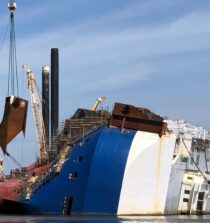 Golden Ray Operations Resume After Hurricane Isaias