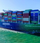 Photos: World's Largest LNG-Powered Container Ship 'CMA CGM Jacques Saade' Makes Maiden Call In The UK