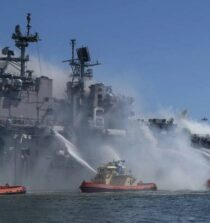 US Navy Sailor Charged in Fire Aboard USS Bonhomme Richard