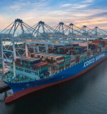 cosco shipping at port of long beach