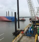 Pile-Driving Kicks Off Golden Ray Wreck Removal in Georgia